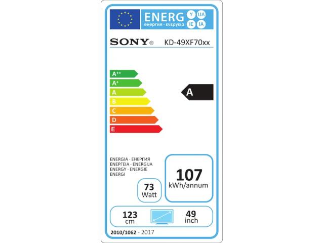 SONY KD49XF7005 4K ULTRA HD LED TV #5
