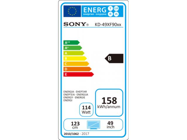 SONY KD49XF9005 4K ULTRA HD LED TV #5
