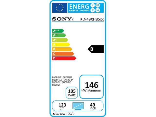 SONY KD49XH8505 4K ULTRA HD TV #5