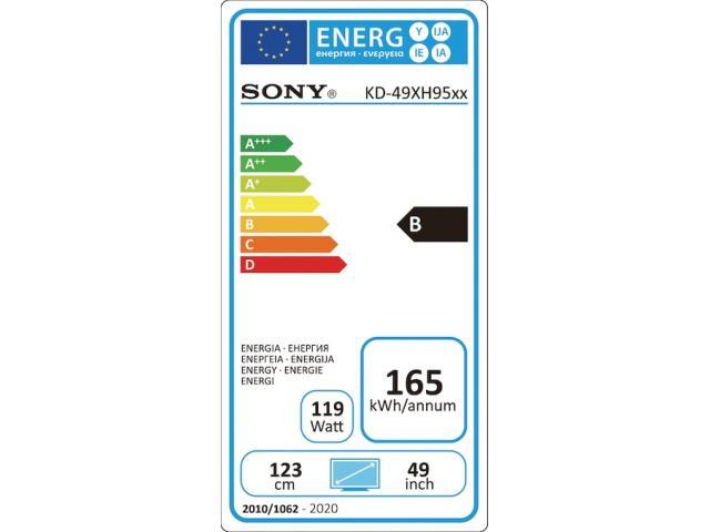 SONY KD49XH9505 4K ULTRA HD TV #5