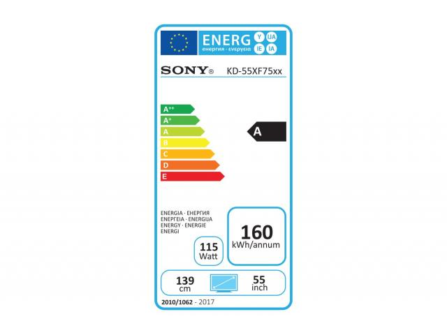 SONY KD55XF7596 4K ULTRA HD LED TV #5
