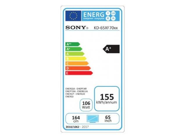 SONY KD65XF7005 4K ULTRA HD LED TV #5