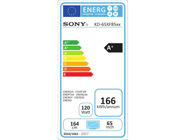 SONY KD65XF8577 4K ULTRA HD LED TV #5