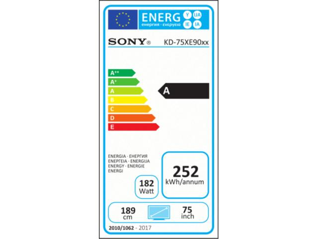 SONY KD75XE9005 4K ULTRA HD LED TV #5