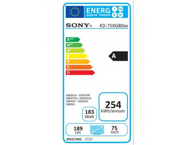 SONY KD75XG8096 4K ULTRA HD LED TV #5