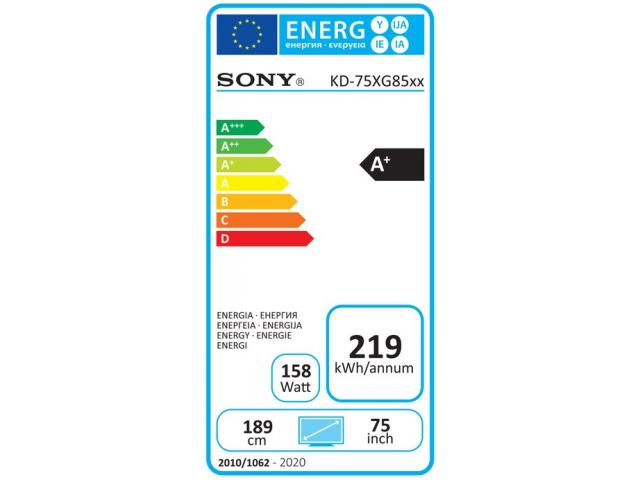 SONY KD75XG8588 4K ULTRA HD LED TV #5
