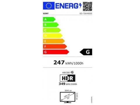 SONY KD75XH9505 4K ULTRA HD TV * #4