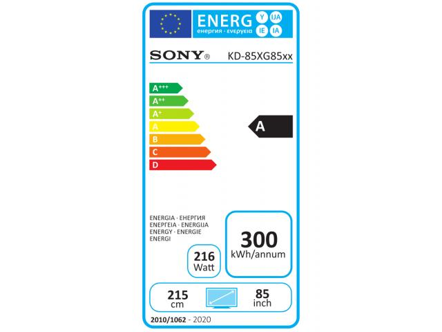 SONY KD85XG8596 4K ULTRA HD LED TV #5