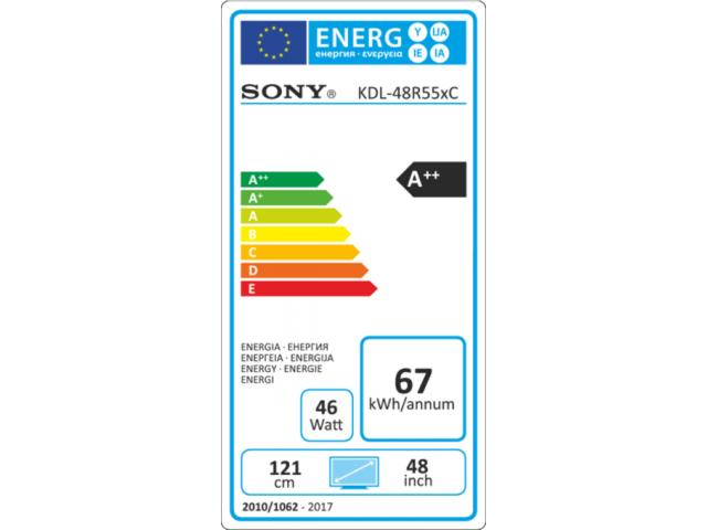 SONY KDL-48R555C LED TV #5