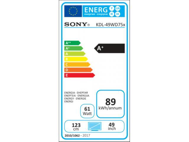 SONY FULL HD KDL49WD758   LED TV #5