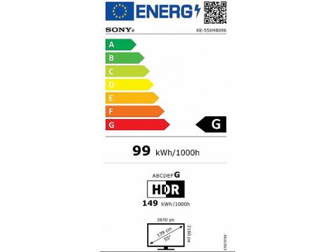 SONY KE-55XH8096 4K ULTRA HD TV #5