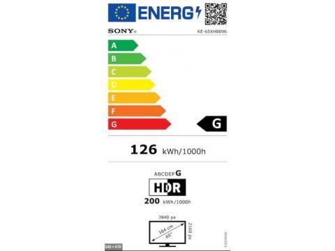 SONY KE-65XH8096 4K ULTRA HD TV #5