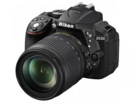 NIKON D5300 kit 18-105mm VR fotoaparat